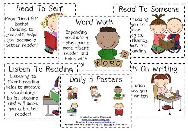 Daily 5 Resources... awesome!