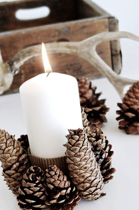 Decorazioni Natalizie Con Pigne E Candele.Top 10 Best Diy Christmas Decorations With Pinecones Diy