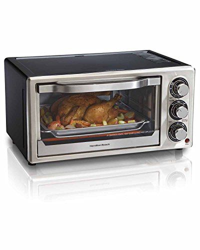 Hamilton Beach 22708 Toastation 2-Slice Toaster and Mini Oven, Black