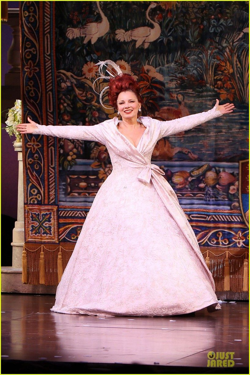 Fran Drescher as the step-mother in Roger and Hamerstein's Cinderella.