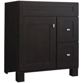 allen + roth Palencia Espresso Contemporary Bathroom Vanity ...