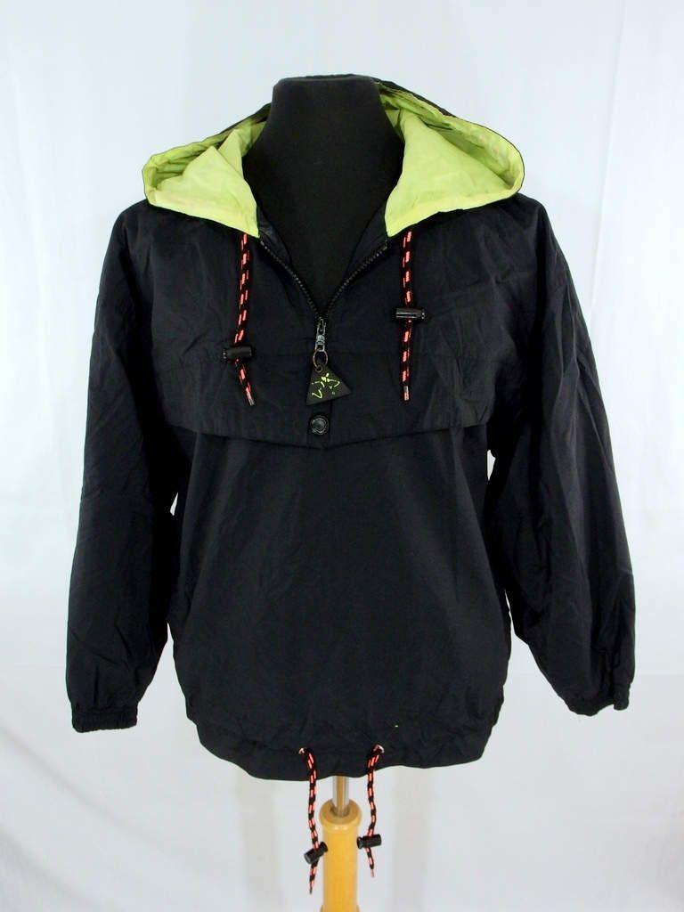 Vintage s s op ocean pacific spring jacket windbreaker black