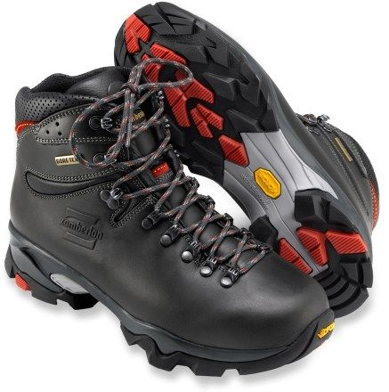 6e7f1d74e96 Zamberlan Men's Vioz GT Hiking Boots Dark Gray/Red 14 | Footwear ...