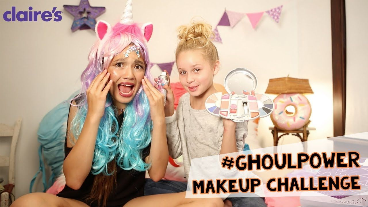halloween timed make up challenge with lily chee | claire's | ghoul