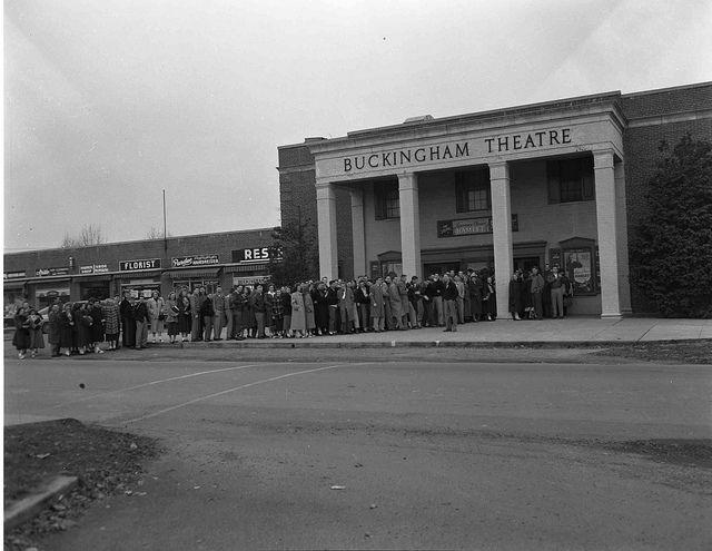 Arlington Va The Buckingham Theatre 1948 Fairfax County Arlington Virginia Arlington