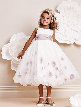 Alfred Angelo Bridal Style 6670 from Flower Girls. Can get sash ...