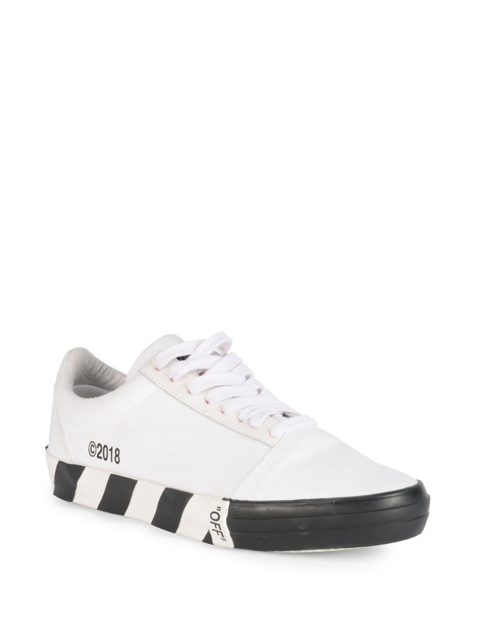 ccdf91ae5355 Off-White Vulc White Low Top Sneaker