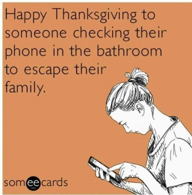 Thanksgiving- bringing out the best in family dysfunction since 1863