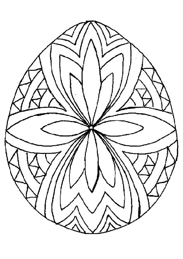 Top 25 Free Printable Easter Egg Coloring Pages Online Easter