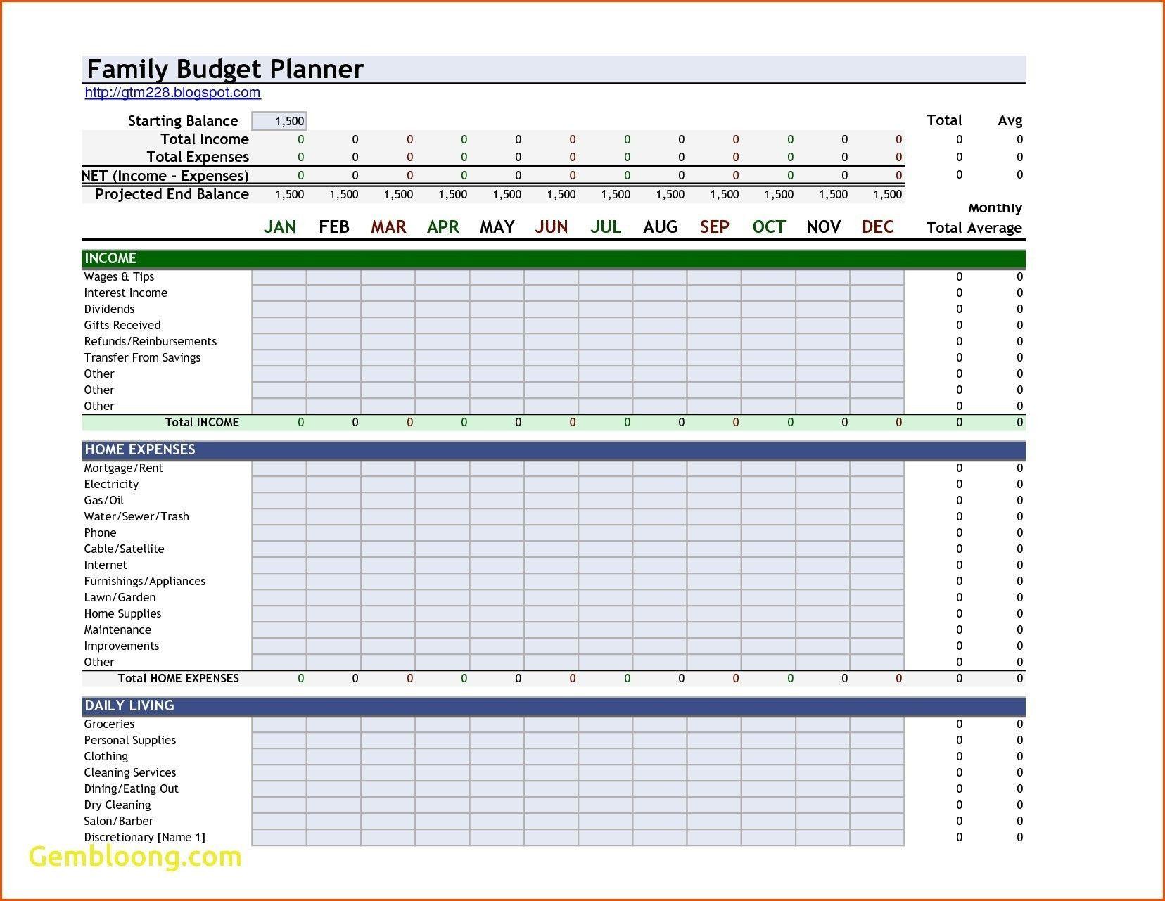 New Budget Templates Excel Xlstemplate Xlssample Xls