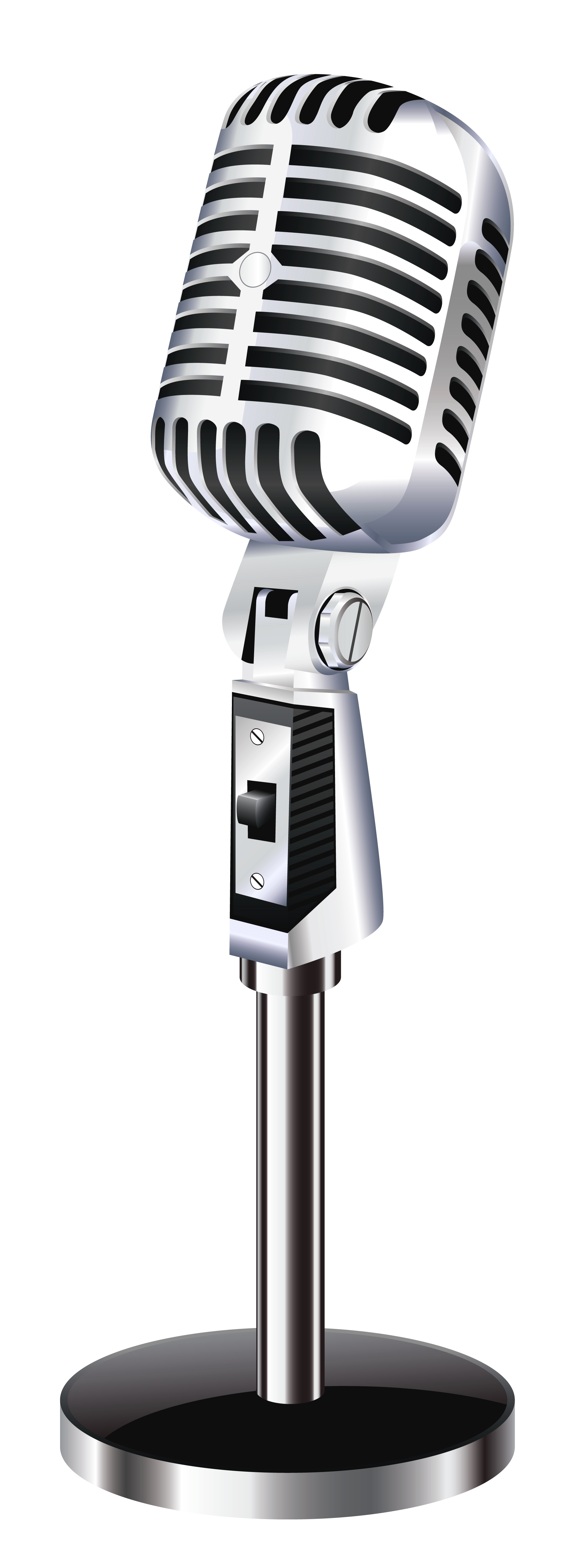 Retro Microphone Png Clipart Picture Microphone Icon Microphone Png