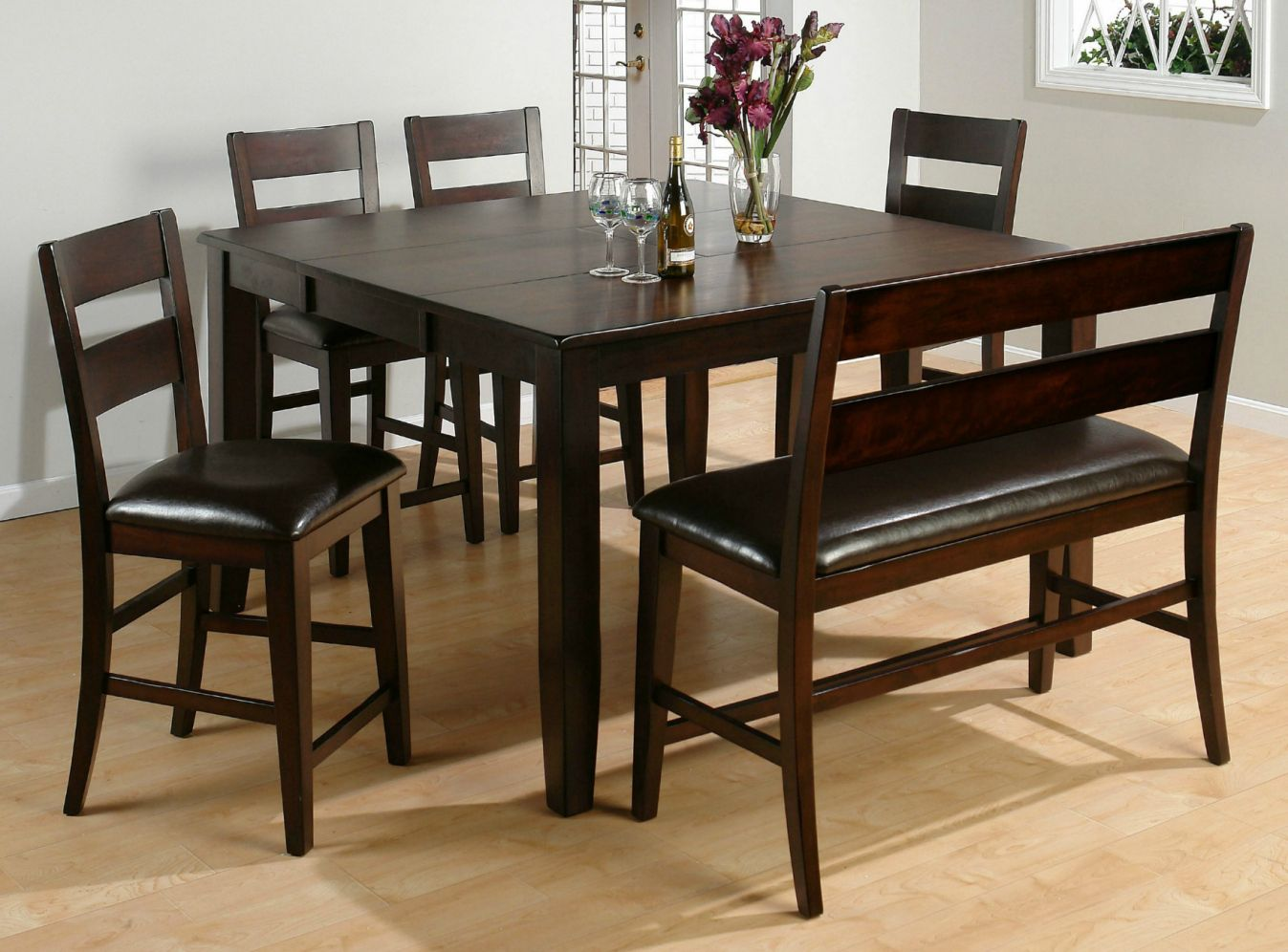Square kitchen table with leaf elite modern furniture check more at http