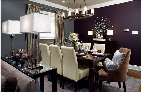 15 Adorable Contemporary Dining Room Designs Home Design Lover Dining Room Colors Accent Walls In Living Room Dining Room Accents