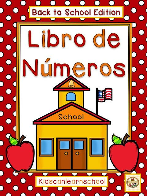 Kidscanlearnschool Book Of Numbers Back To School Books