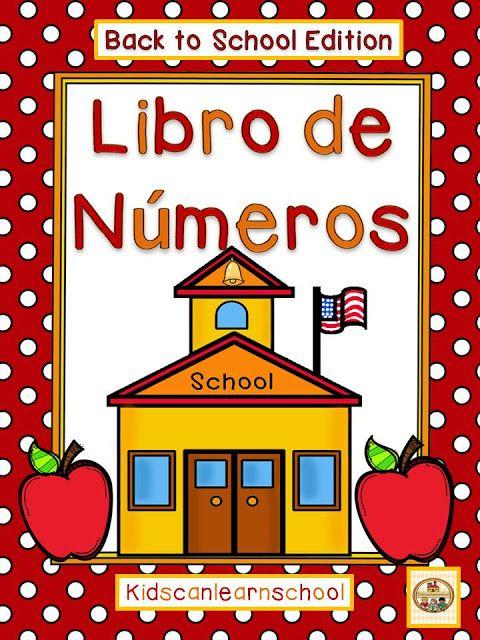 Kidscanlearnschool Book Of Numbers Back To School Books