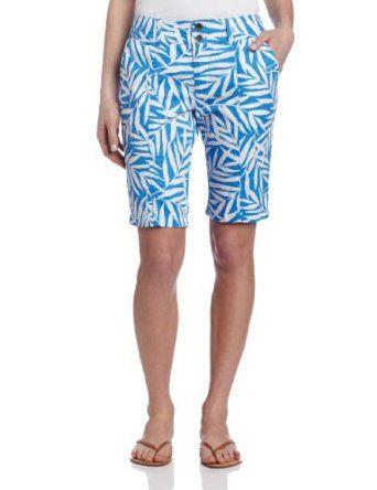 Shorts · Caribbean Joe Women's Printed Twill Skimmer