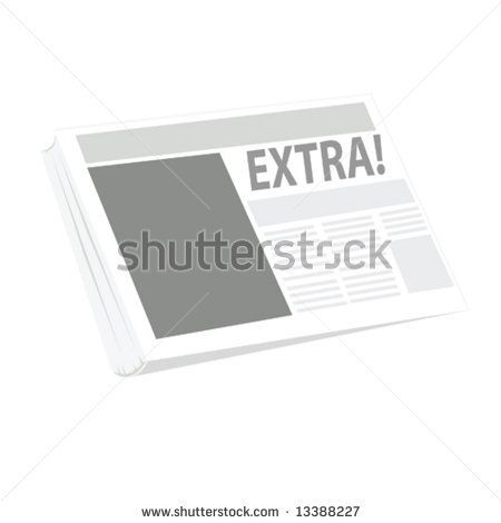 Newspaper Cake Template Blank Newspaper Article Template For Kids