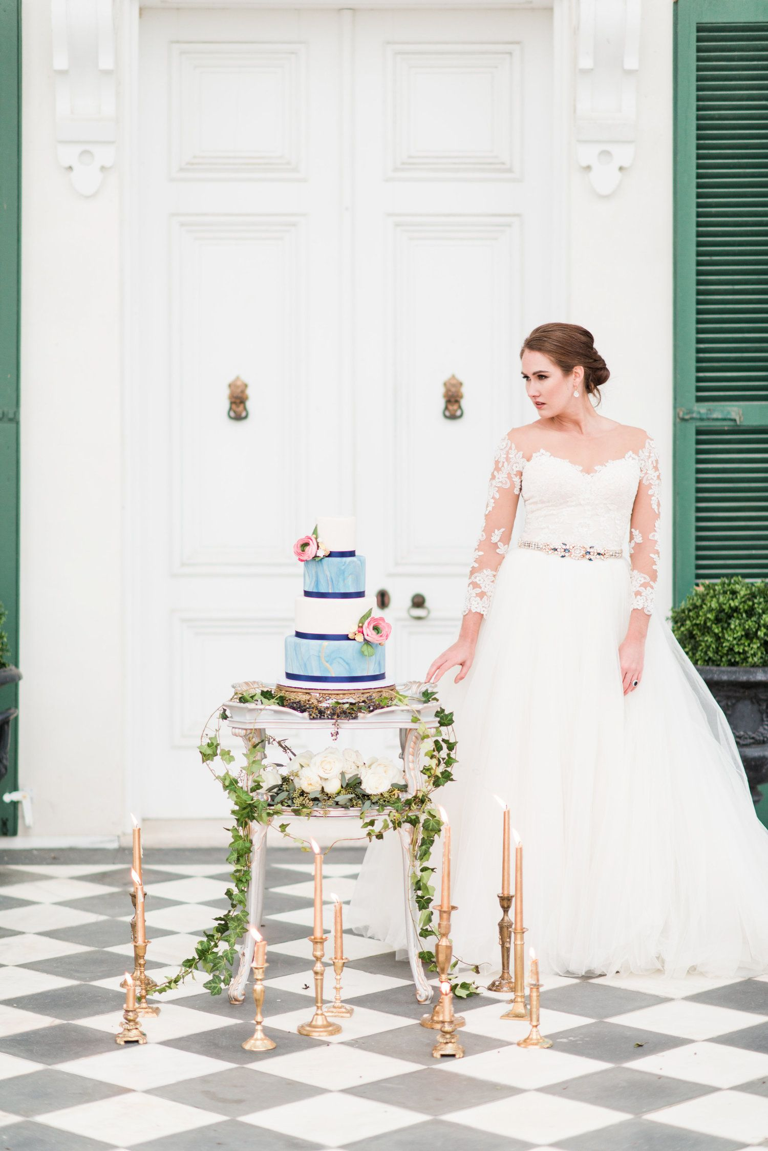 Something royal blue styled wedding park royal blue and wedding