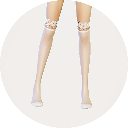 SIMS4 marigold: over knee socks collection_transparent version_unisex_오버 니 삭스 투명한 버전_남녀 양말