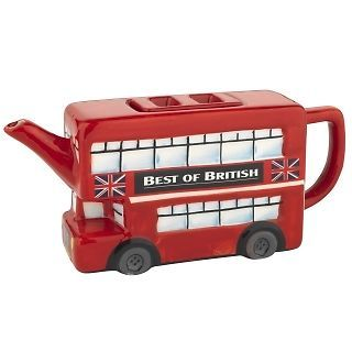 Miniature London Bus Box Teapot eBay Tea pots, Old tea