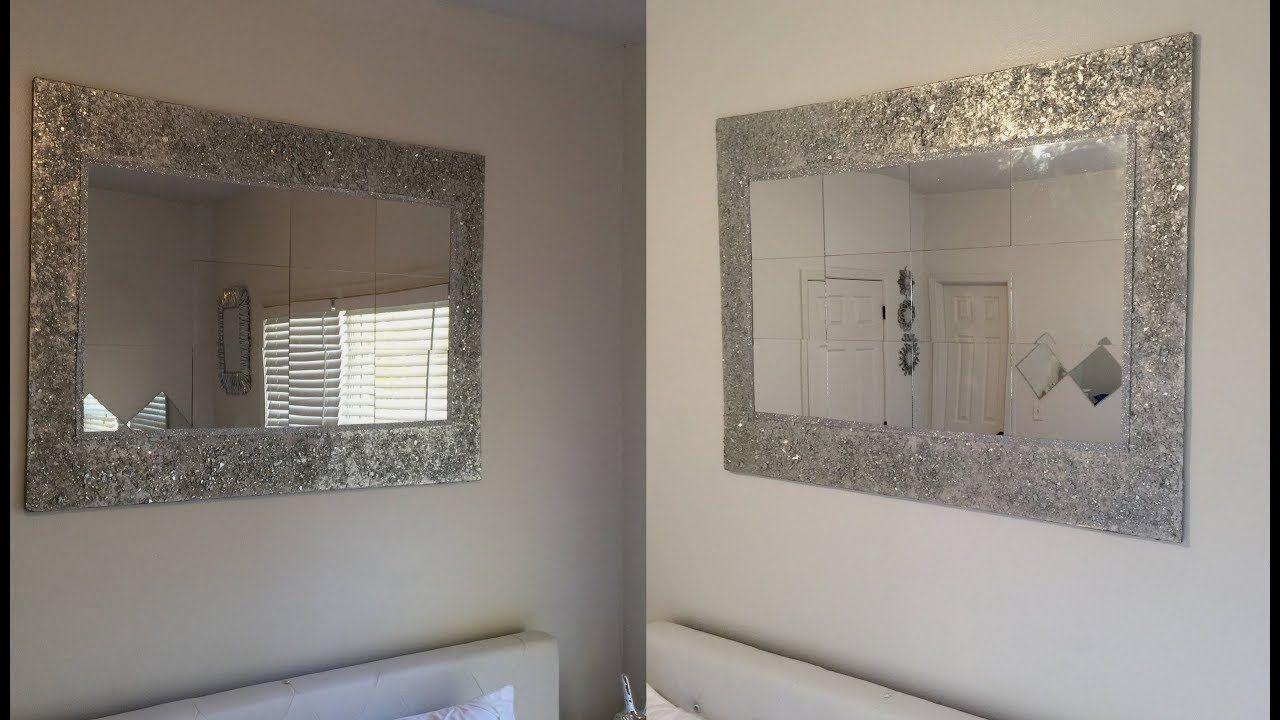 Dollar Tree Diy Huge Decorative Wall Mirror Youtube