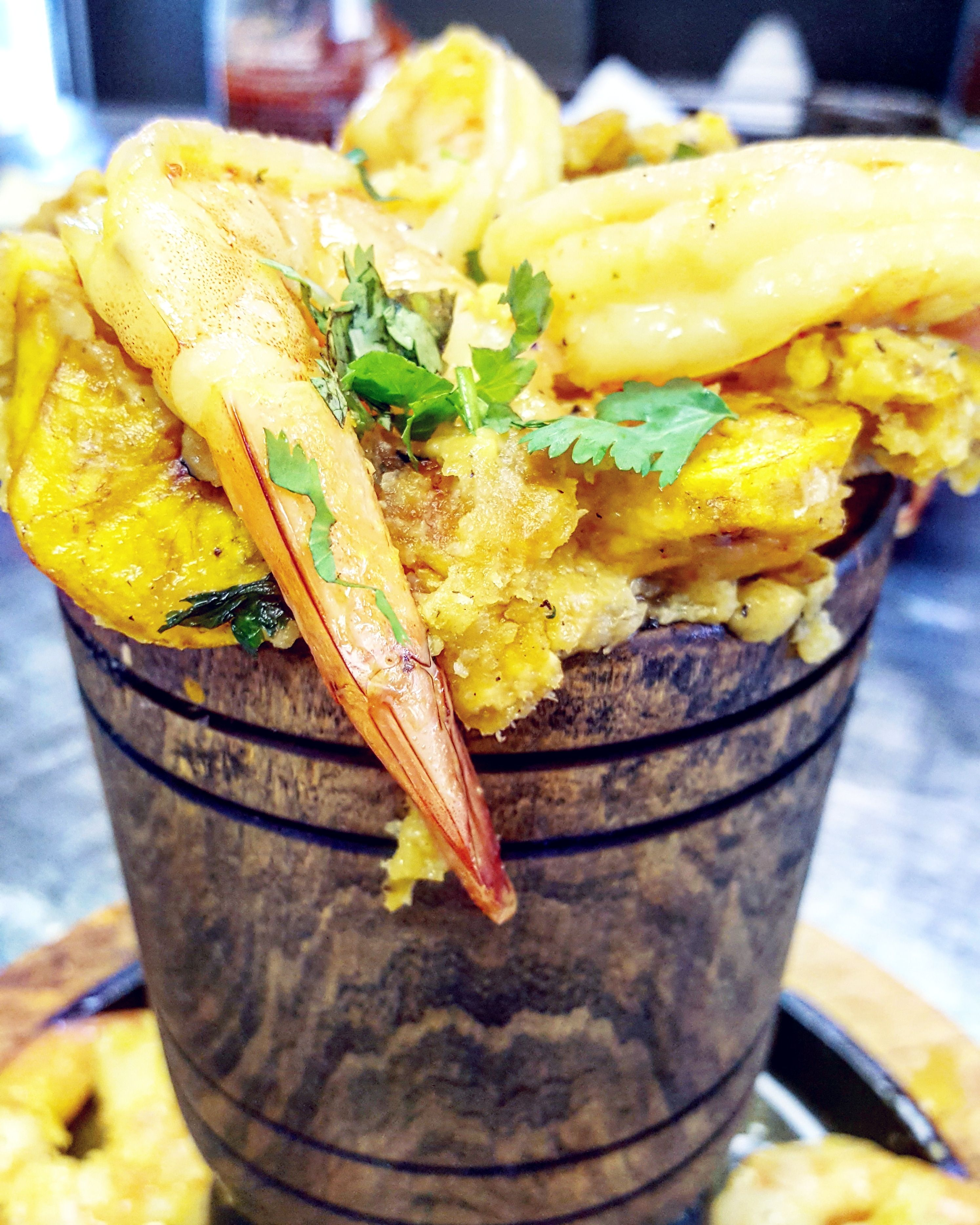 Our Mofongo With Shrimp Is Probably The Most Sought Dish On Our Menu Not Just Because It Is Huge But Because Of The Amazing Fl Orlando Restaurants Food Dishes