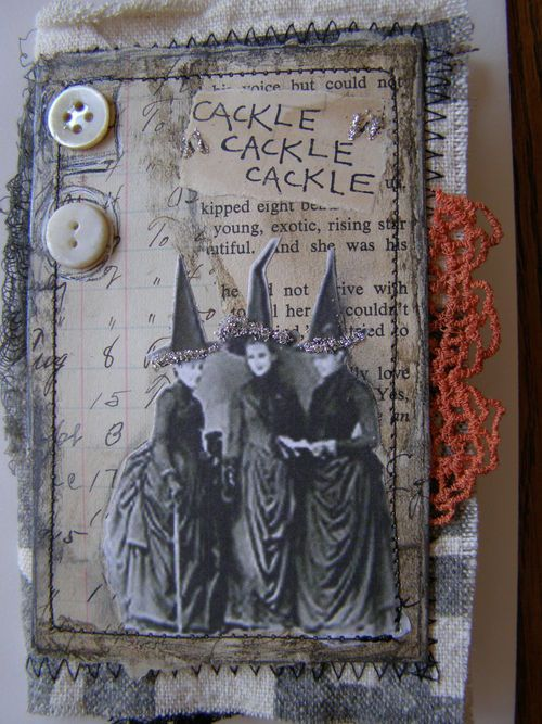 Halloween Book Cover Ideas : Nellie s journals cackle art