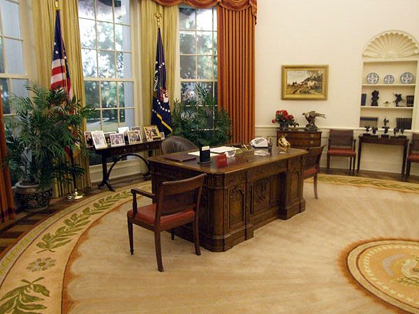 President ronald reagan oval office carpet nazmiyal Oval office decor by president