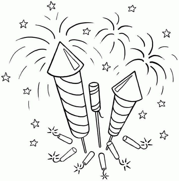 4 Juli Malvorlagen Kostenlos Feuerwerk Malvorlagen Fur Kinder Feuerwerk Kostenlose Ausmalbilder