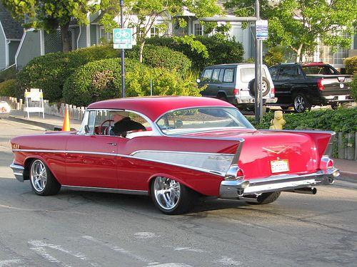 1957 Chevrolet Bel Air Hardtop Custom 2 2 Classic Cars Muscle