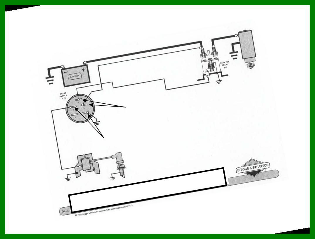 Ignition Wiring Basic Wiring Diagram Briggs Stratton Ignition System Switch 36 Scag Mo In 2020 Basic Diagram