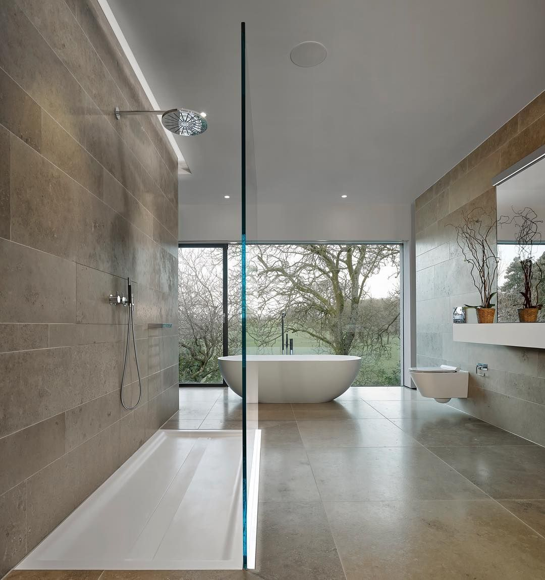 Bathroom To Our Award Winning Project In Lancashire As Featured In Grand Designs We Wanted T Stylish Bathroom Small Bathroom Renovations Update Small Bathroom