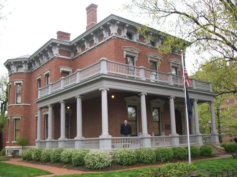 Benjamin Harrison's home, Indianapolis   Harrison house ...  Benjamin Harrison House