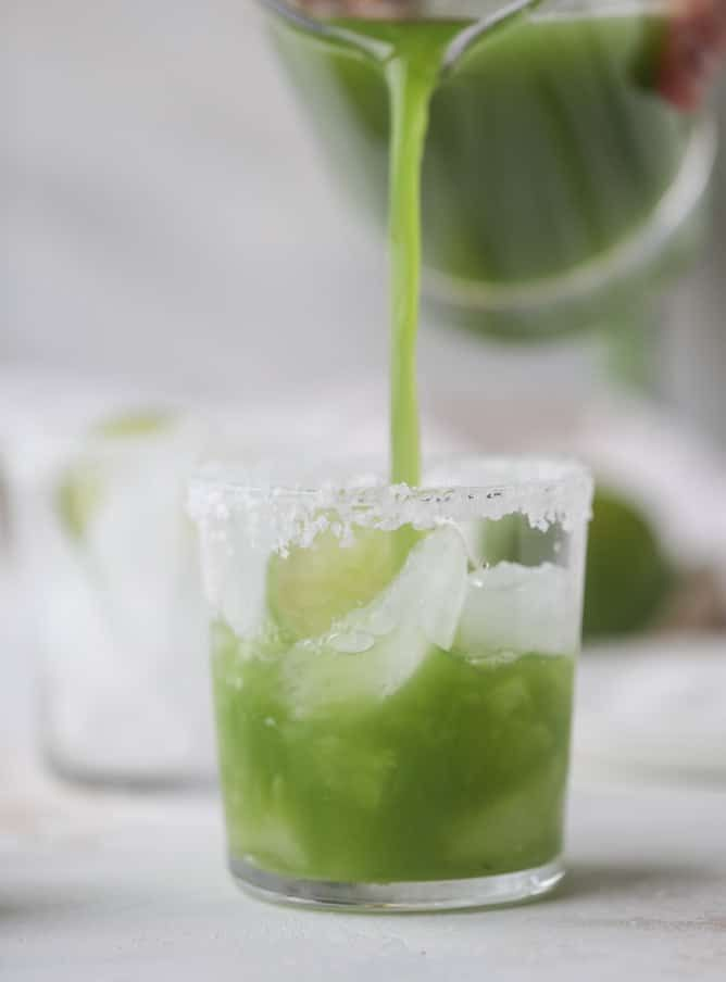 Green Goddess Cocktail