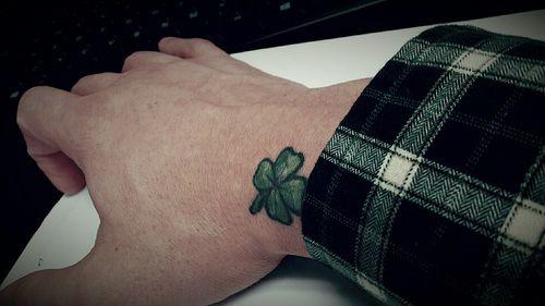 Four Leaf Clover Tattoo - PairodiceTattoos.com