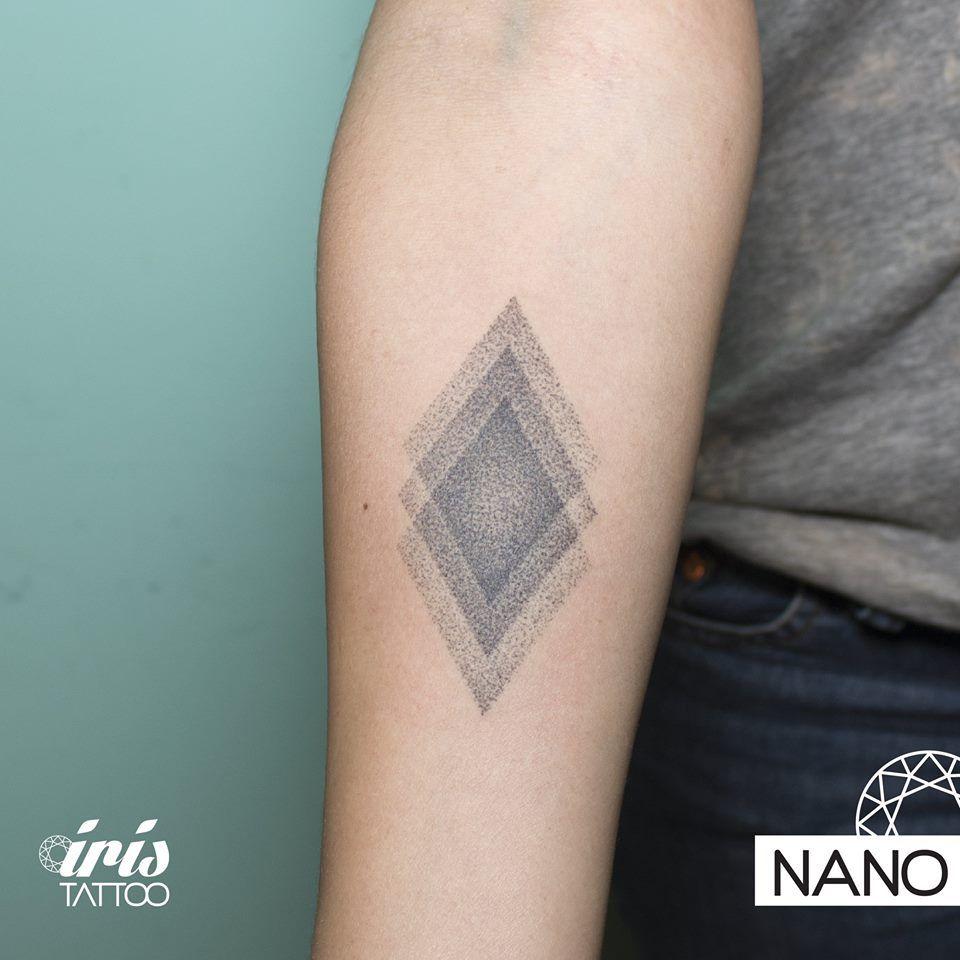03fba438f #handpoked #handpokedtattoo #iristattoo #tattoo #tatuaje #tattooart… More