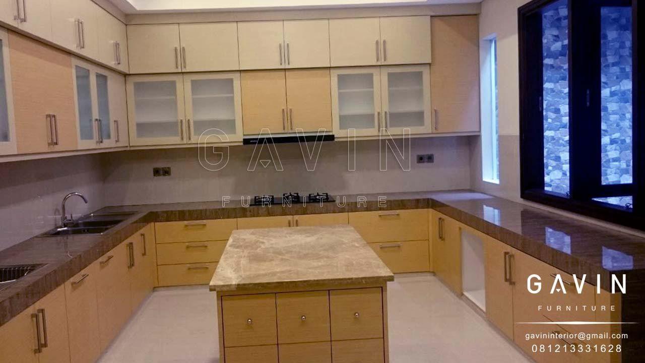 Pembuatan Kitchen Set Design Letter U Untuk Klien Di Kebayoran