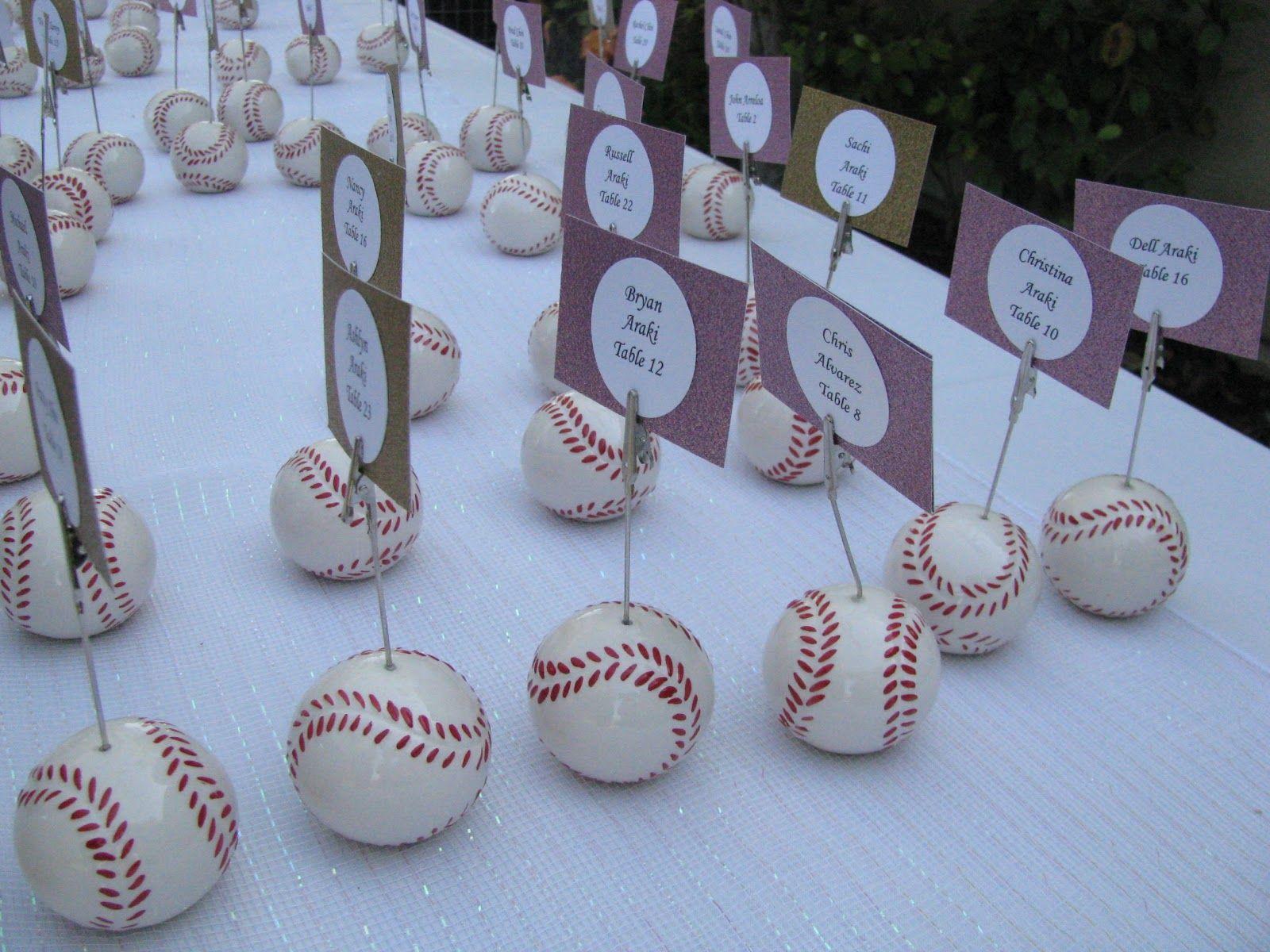 Baseball Wedding Gifts: Baseball Theme Wedding Ideas
