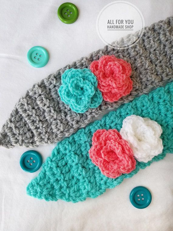 Crochet Pattern Instant Download Crochet Ear Warmer Pattern