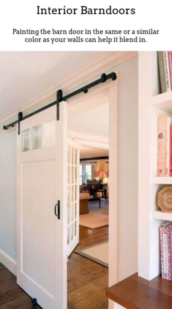 Interior Barndoors. Gliding Barn Doors Are Not Just For
