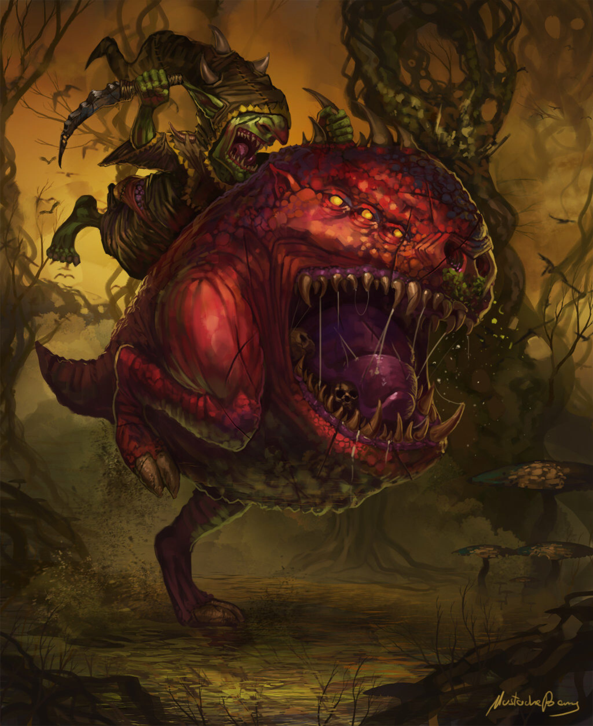 Warhammer Fantasy Age of Sigmar Gloomspite Gitz Night Goblins Squig Hoppers