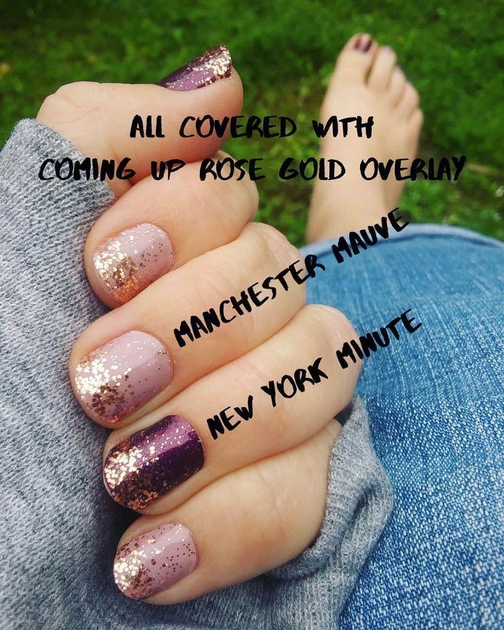 "Ashley on Instagram: ""🖤 Manchester Mauve • New York Minute ..."