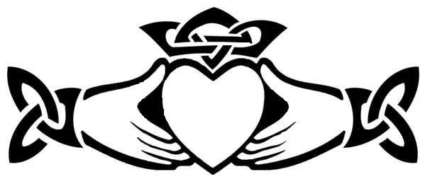 Trinity Knot Claddagh Tattoo The Claddagh Is An Irish Symbol Of