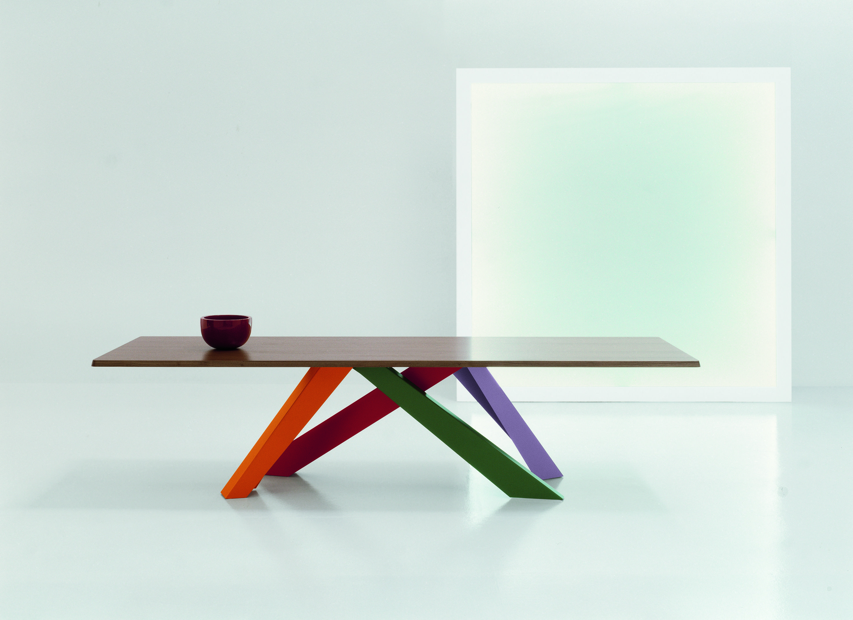 Big Table, Bonaldo, design: Alain Gilles, polish agent of Bonaldo ...