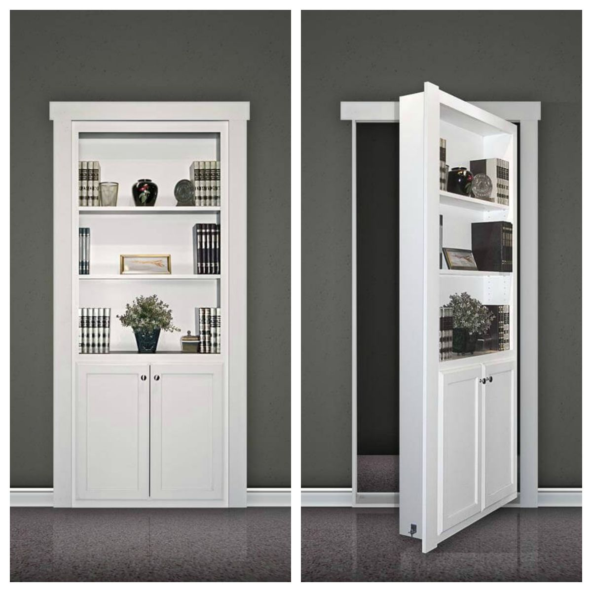 25 best closet door ideas that won the internet stylish for Murphy garage doors