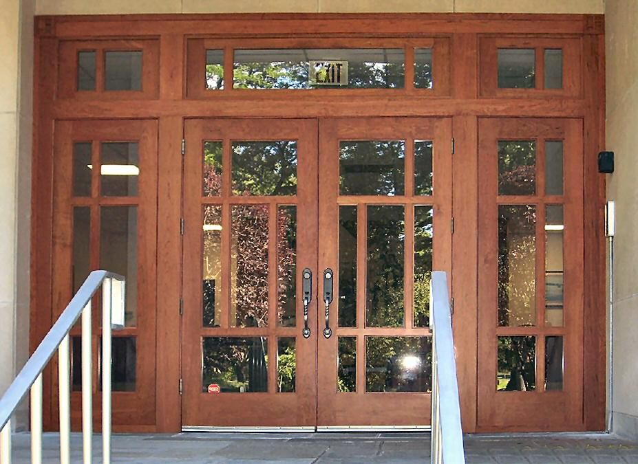 Doors   Windows   Craftsman Style Doors With Nice Color Craftsman Style  Doors Interior Wood Doors  Exterior Door  Home Depot Front Doors or Doors    Windowssdouble doors and a transom  The opening is 13  wide by 9 5  high  . New Style Patio Doors. Home Design Ideas