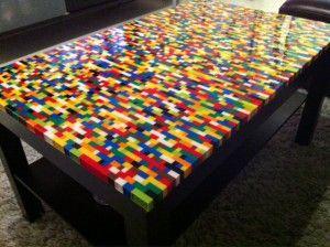 table basse en l gos lego pinterest lego and lego table. Black Bedroom Furniture Sets. Home Design Ideas