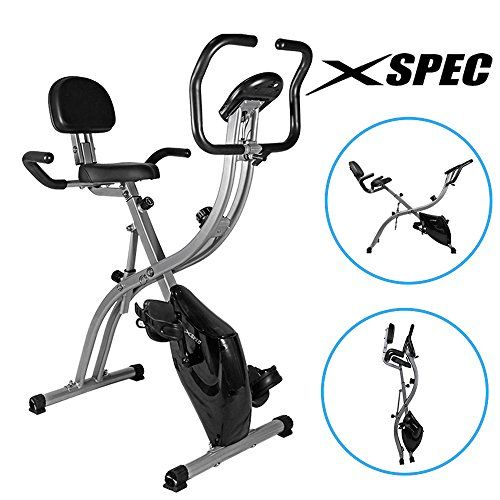 New Xspec Dual Recumbent Upright Indoor Cycling Foldable Exercise