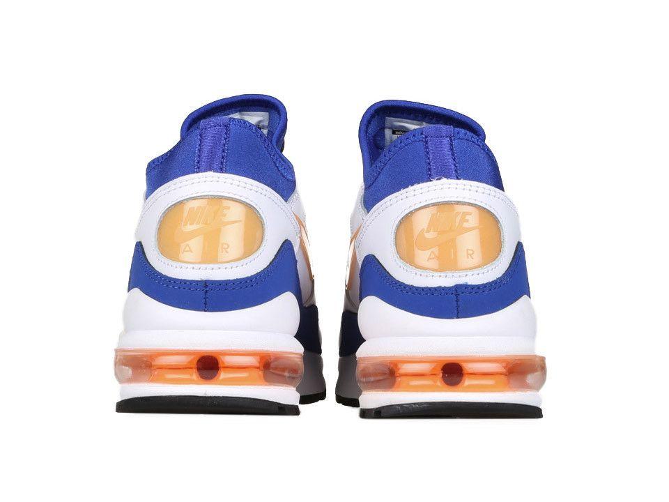 hot sale online 33b49 cbb13 Black · Nike Air Max 93 White Bright Citrus-Hyper Blue-Black 306551-100