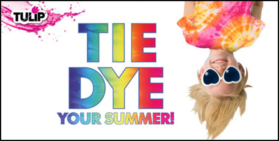 Tie Dye Your Summer Instructions & 200 Tie Dye Ideas